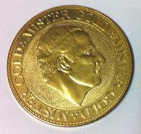 75009 PARIS MISTER GOLD MÉDAILLE SOUVENIR  ARTHUS BERTRAND 2011 JETON MEDALS TOKENS COINS - Arthus Bertrand