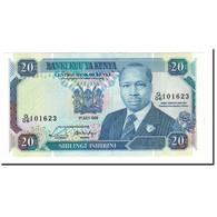 Kenya, 20 Shillings, 1989, KM:25b, 1989-07-01, NEUF - Kenya