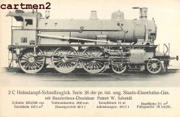 DIE LOKOMOTIVE W. SCHMIDT LOCOMOTIVE WIEN TRAIN LOCOMOTIVE ZUG BAHNHOF TRENO LOCOMOTORA BAHN DEUTSCHLAND - Eisenbahnen