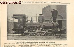 DIE LOKOMOTIVE SÜDBAHN LOCOMOTIVE TRAIN ZUG BAHNHOF TRENO LOCOMOTORA BAHN - Trains
