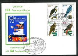 Bund 1973: Mi.-Nr. 754 - 757: FDC  Jugend    (F004) - FDC: Sobres