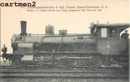 LOKOMOTIVE PREUSS PRUSSE LOCOMOTIVE TRAIN ZUG BAHNHOF TRENO LOCOMOTORA BAHN DEUSCTHLAND - Trains