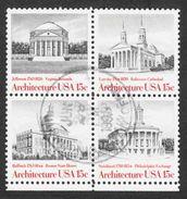 United States - Scott #1782a Used - Block (2) - Blocks & Sheetlets