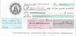 CAMBIALE - CON MARCA DA BOLLO ELETTRONICA EURO.  2,80 , 2,00 E FRANCOBOLLI.LIRE. 200 - Cambiali