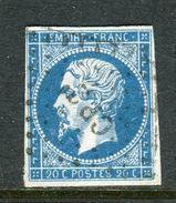 Superbe N° 14 Cachet Ambulant CP2° - 1853-1860 Napoléon III.