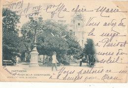 ESPAGNE )) CARTAGENA    Plaza De La Constitucion - Autres