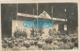 CIRQUE )) CARTE PHOTO    GRAND CIRQUE MEDRANO   11 09 1920 - Cirque
