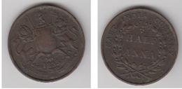 HALF ANNA 1803 -EAST INDIA COMPANY - Kolonies