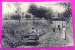 Cpa Arvant St Géron Entrée Source Carte Postale 43 Haute Loire Proche Bournoncle Saint Pierre Lorlanges Beaumont - Ohne Zuordnung