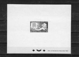 FRANCE 1963 Yvert 1379 épreuve De Luxe Campagne Contre La Faim - Artist Proofs
