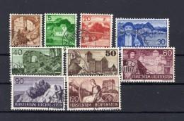LIECHTENSTEIN 11937-1938 Zumstein N° 126-138 Obl. - Liechtenstein