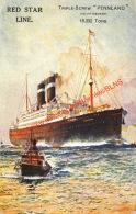 Red Star Line - Triple-Screw Pennland - Steamers
