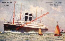 Red Star Line - Steamer Lapland - Steamers