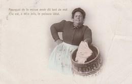 """CPA - Pourquoi De La Morue Avoir Dit Tant De Mal... """"Etoile"""" Emaillographie. V.B.C. Série N° 3324 - 4e - Fishing"""