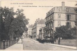 ---- 70 -----  LUXEUIL LES BAINS  Les Grands Hotels - Neuve Excellent état - Luxeuil Les Bains