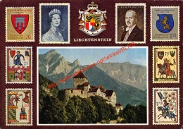 Schloss Vaduz - Fürst Franz Josef II - Fürstin Gina - Liechtenstein - Liechtenstein