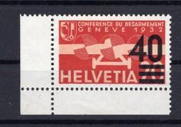 SUISSE Poste Aérienne  1937  Zumstein N° 25 Neuf XX - Airmail