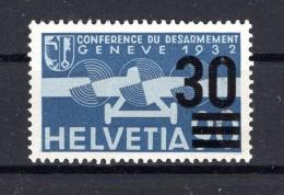 SUISSE Poste Aérienne  1936  Zumstein N° 23 Neuf XX - Airmail