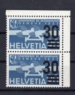 SUISSE Poste Aérienne  1936  Zumstein N° 23 Neuf XX En Double - Airmail