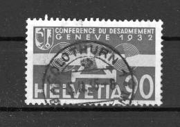 SUISSE Poste Aérienne 1932   Zumstein N° 18 Obl. Centrale 5.2.1935 - Poste Aérienne