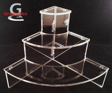 Présentoir Plexi 1/4 De Rond Pour Miniatures De Parfum PRE25 - Perfume Miniatures