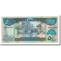 Somaliland, 500 Shillings = 500 Shilin, 2008, KM:6g, NEUF - Somalie