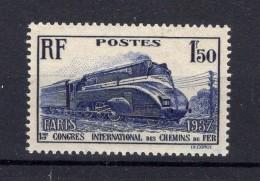 FRANCE  1937 Yvert N° 340 Neuf XX - France