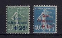 FRANCE 1927   Yvert N° 246-247   Neuf XX - France