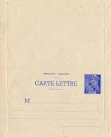 FRANCE Carte Lettre Entier Type Mercure 1940 Neuve XX - Letter Cards