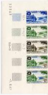 NOUVELLE CALEDONIE1967 Yvert N° 339 Neuf XX ND  Essais De Couleurn° De Feuille N° De Presse Et Coin Daté - New Caledonia