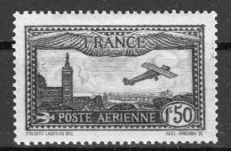 FRANCE  Poste Aérienne 1930  Yvert N° 6 Neuf X - 1927-1959 Covers & Documents