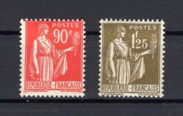 FRANCE   1932-1933  Yvert N° 285-287  Neuf X - France