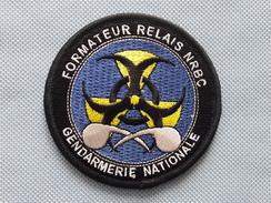 Ecusson Cellule NRBC - Formateur Relais - Police & Gendarmerie