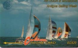 TARJETA TELEFONICA DE ANTIGUA Y BARBUDA.(13CATB) - Antigua And Barbuda