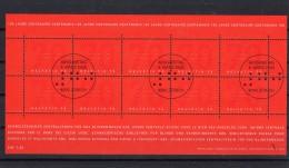 SUISSE 2003  Les Aveugles  Zumstein N° 1080 En Feuillet Obl. Centrale 1er Jour 6.3.2003 - Blocks & Sheetlets & Panes