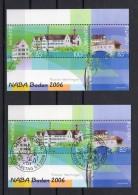 SUISSE   2006  Zumstein N° 93  1 Bloc Neuf XX  / 1 Bloc Obl. Centrale 1er Jour  ( Variété Signature Basse ) - Blocks & Sheetlets & Panes