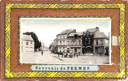 Souvenir De Perwez (attelage Grand Place, Carte Système Multi-vues Complet..peu Vue) - Perwez