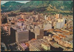 °°° 8163 - COLOMBIA - PANORAMICA DE BOGOTA - 1974 With Stamps °°° - Colombia