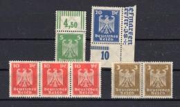 ALLEMAGNE  REICH 1924  Michel N° 355-358 Neuf XX - Germany