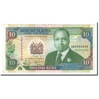 Kenya, 10 Shillings, 1992, KM:24d, 1992-01-02, SPL - Kenya