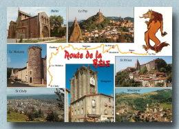 Saint Chely Le Malzieu Route De La Bete Du GEVAUDAN  48   (scan Recto-verso)MA1898Bis - Saint Chely D'Apcher