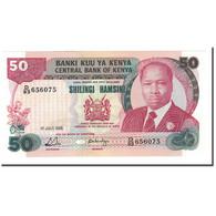 Kenya, 50 Shillings, 1988, KM:22e, 1988-07-01, NEUF - Kenya