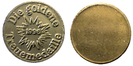 00668 GETTONE TOKEN JETON FICHA GETTONE FEDELTA FAITHFUL TOKEN DIE GOLDENE  TREUMEDAILLE 1996 - Allemagne
