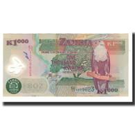 Zambie, 1000 Kwacha, 2004, KM:44c, NEUF - Zambie