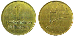 01796 GETTONE TOKEN JETON FICHA MUNICIPAL HEIDENHEIMER HELLESTEIN - Allemagne