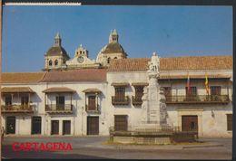 °°° 8168 - COLOMBIA - CARTAGENA - PLAZA DE LA ADUANA - 1998 With Stamps °°° - Colombia