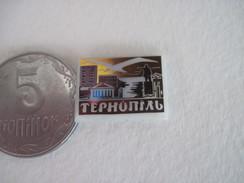 Ukraine Ternopil Lenin Monument - Badges