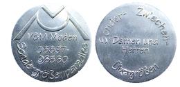 01823 GETTONE TOKEN JETON AMUSEMENT DISKO DANCING V&M MODEN SANDERGROSSENPARADISE - Allemagne