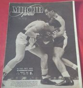 Miroir Sprint N°45 Avril 1947 Marcel CERDAN Met KO Harold GREEN Au Madison Square Garden, Cross Des Nations - Sport