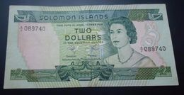 SOLOMON IS. 2 DOLLARS 1977 - Solomon Islands